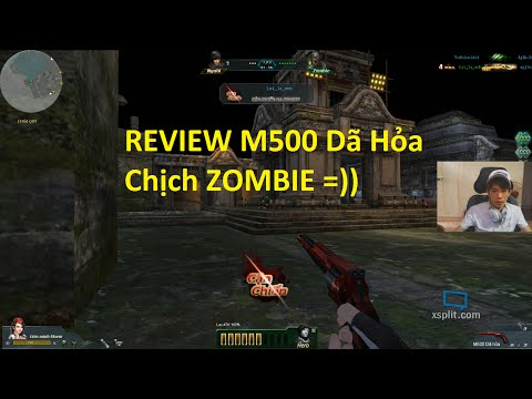 Bình Luận Truy Kích | M500 Dã Hỏa - Đua Top vs Cận Chiến Zombie ✔