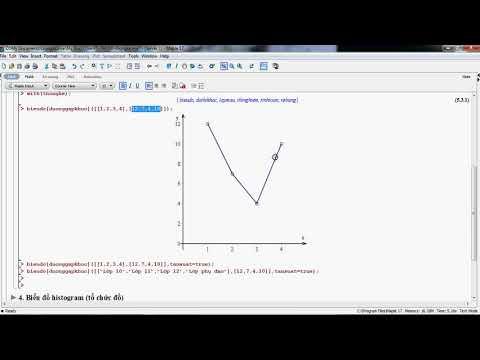 [Maple][Thống kê] Vẽ biểu đồ đường gấp khúc