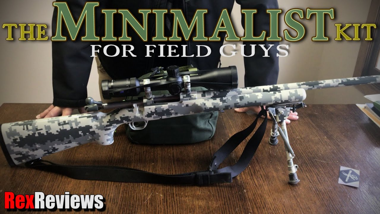 Long Range Rifle MINIMALIST Kit ~ Rex Reviews