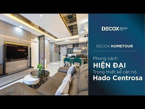 [Decox Home Tour] Phong cách hiện đại trong thiết kế căn hộ Hado Centrosa 86m2