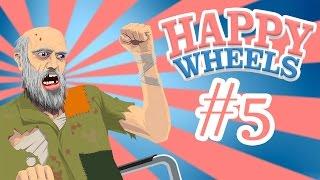 Happy Wheels - ГАНГСТА РЭП Ё! #5