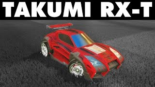 Rocket League | Takumi RX-T Thursday! (Freestyle Highlights) thumbnail