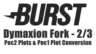 Burstcoin Fork - Poc2 Plotting & Poc1 Plot Conversion For Dymaxion Fork