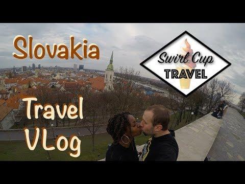 Slovakia Travel VLog EP1 | Bratislava Castle | Slavin | Old Town Square