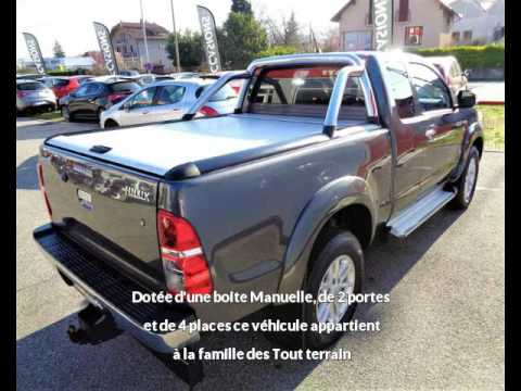 toyota hilux 144 d 4d x tra cabine l gende cabine 4wd rc2 vendre chambery chez vpn autos. Black Bedroom Furniture Sets. Home Design Ideas