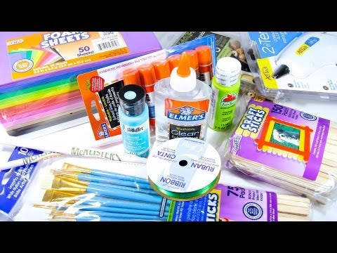 Getting Started Basic Craft Supplies Youtube