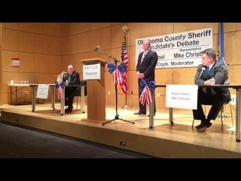 Oklahoma County Sheriff's debate 9/15/16 #1
