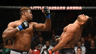 Highlight knock-out MMA | The Best Combo Finishes in UFC MMA