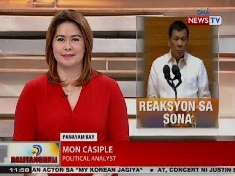 BT: Panayam kay political analyst Mon Casiple kaugnay sa naging SONA ni Pres. Duterte