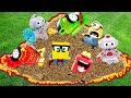 Learn colors and Numbers 1-10 with Discovery Mindblown Robots and McDonald Happy Meal Collections