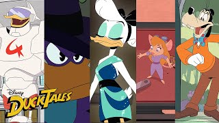 The Best DuckTales Crossovers! | Compilation | DuckTales | Disney XD