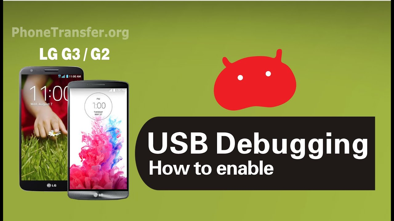 How to Enable USB Debugging Mode on LG G3 , LG G4, LG G5 on the Developer  Options