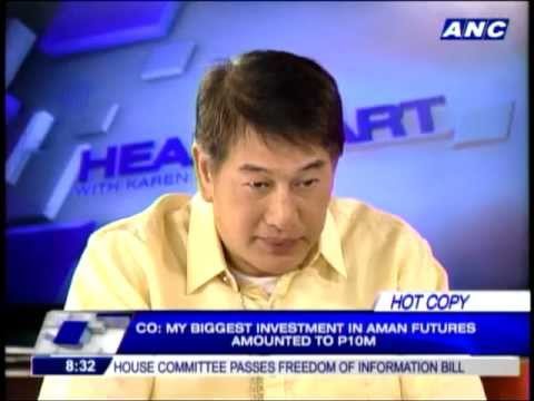 Pagadian mayor reveals earnings from Aman