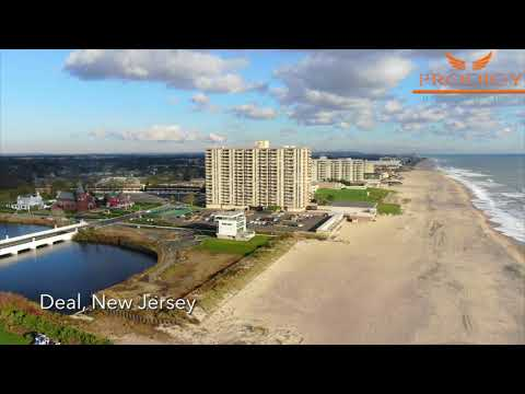 Deal, New Jersey From Above
