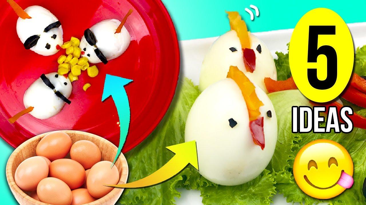 Recetas huevo cocido para ninos
