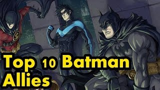 Top 10 Batman Allies – A Comic Island Production