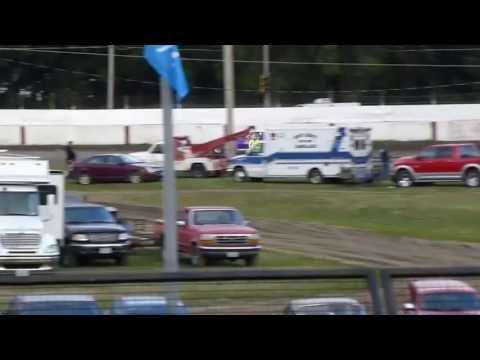 west liberty raceway modified heat 1 7/27/13