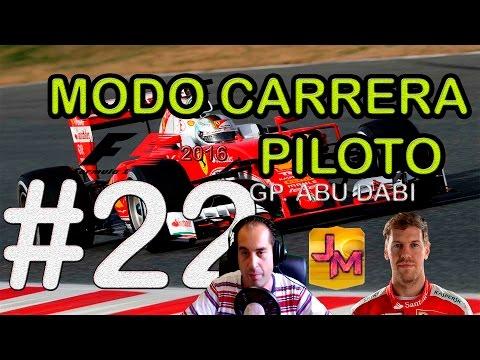 F1 2016 | FINAL 1RA TEMPORADA CON MAXON #22 | GP. ABU DABI | YAS MARINA | PS4 |  Español