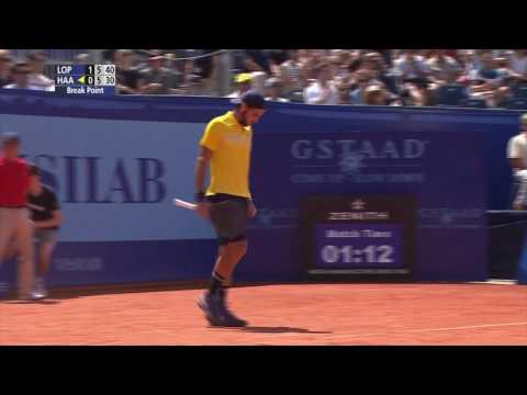 Lopez Beats Haase In Gstaad 2016 Final Highlights
