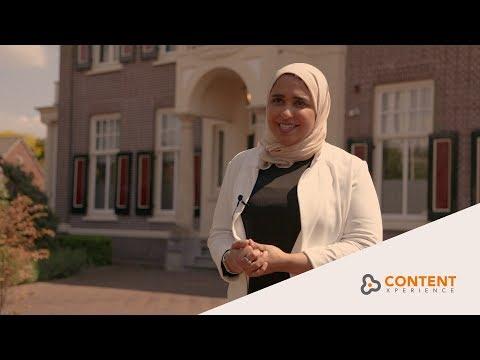 United Arab Emirates entrepreneur Afra Almarar visits ContentXperience