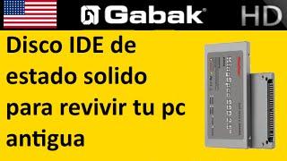 Discos rigido SSD SOLIDOS IDE vs MECANICOS IDE