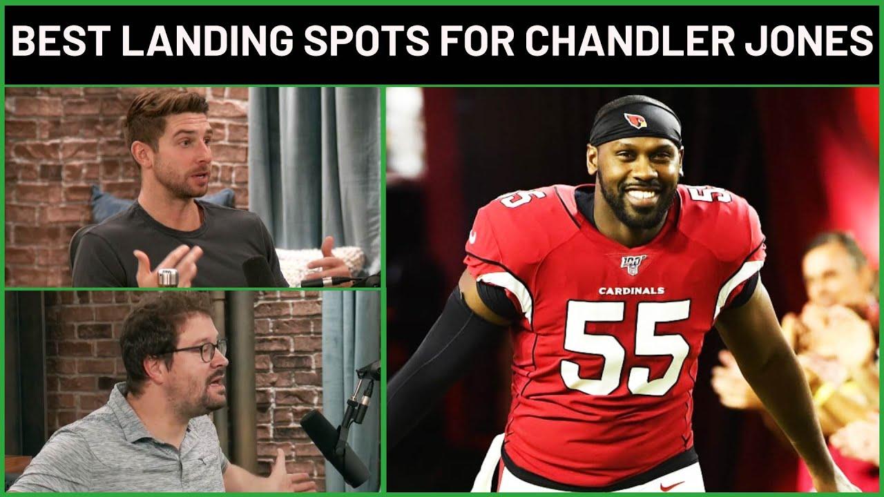 Former Patriots pass rusher Chandler Jones reportedly requests ...