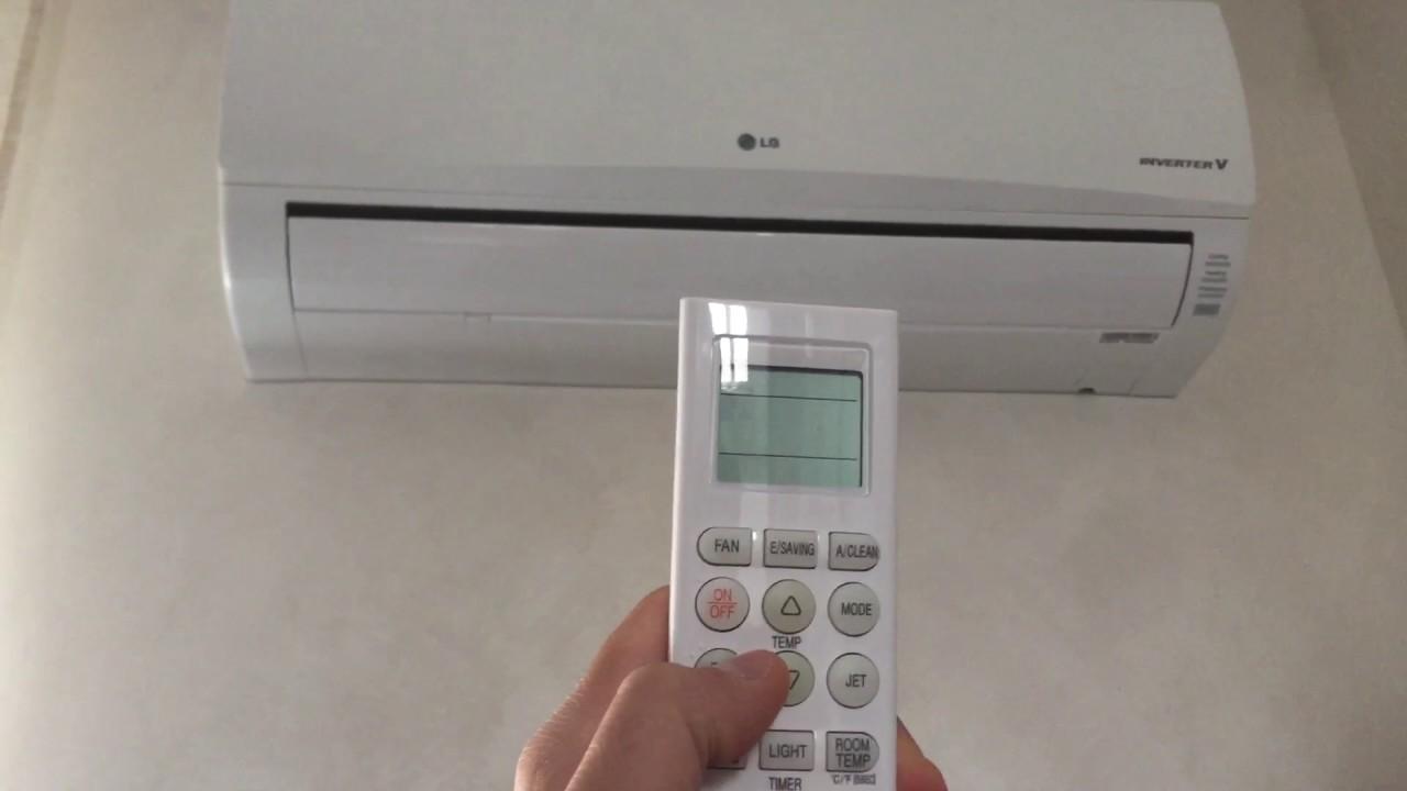 il telecomando del condizionatore non funziona