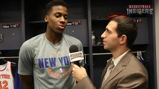 Frank Ntilikina One-On-One With Michael Scotto  - Basketball Insiders