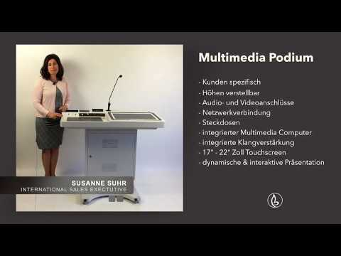 MULTIMEDIA PODIUM - Deutsch