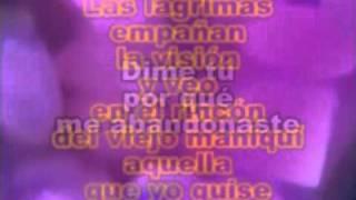 KARAOKE   / EL MANIQUI  /  SANDRO