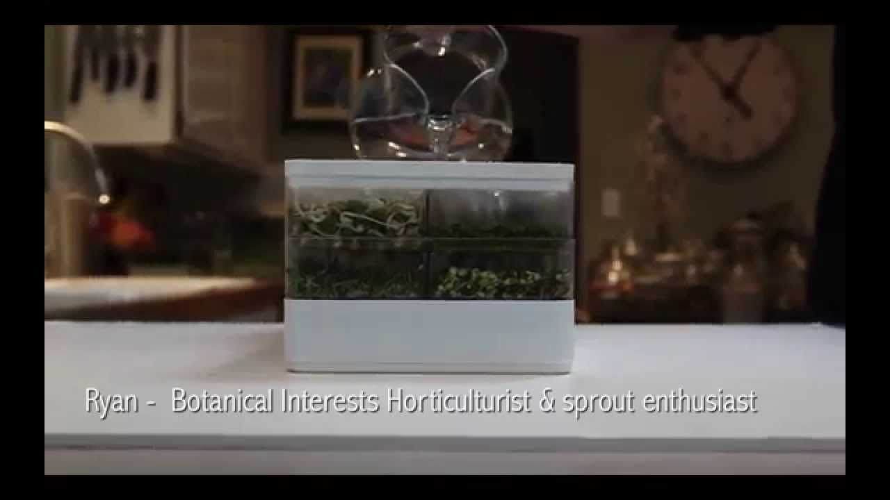 Kitchen Garden Sprouter Botanical Interests Seed Sprouter New Intro Video Youtube