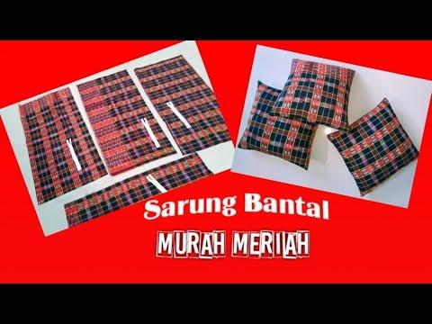 Cara Membuat Sarung Bantal (kain pembungkus kapuk) dengan memakai Resleting Biasa