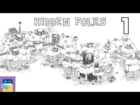 Hidden Folks: iOS iPad Air 2 Gameplay Walkthrough Part 1 (by Adriaan de Jongh)