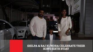 Shilpa & Raj Kundra Celebrate Their Son's Sixth B'day
