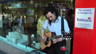 Ian Whitehead - 'Losing My Religion' (R.E.M.) - Buskers in Sheffield 15/9/2012