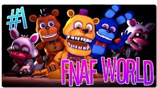 FNAF WORLD - PARTE 1 | ¡ESTO NO DA MIEDO! | GAMEPLAY ESPAÑOL | PC