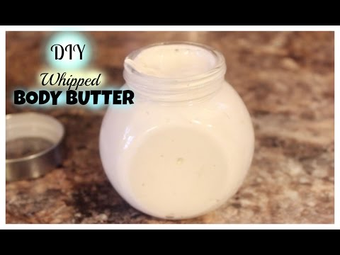 DIY Vanilla Lavender Whipped Body Butter Cream | Holiday Gift Ideas