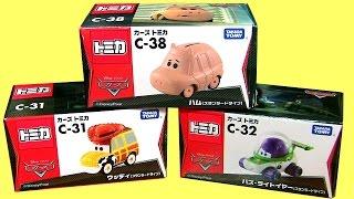 Cars Toy Story Woody, Cars Toy Story Hamm, Cars Toy Story Buzz Lightyear Disney Takara Tomyトミカ カーズ