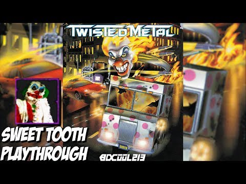 Twisted Metal PS1 | Sweet Tooth Gameplay Walkthrough | Playstation