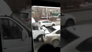 Шок!Дтп 5 машин Омск 15.11.2018