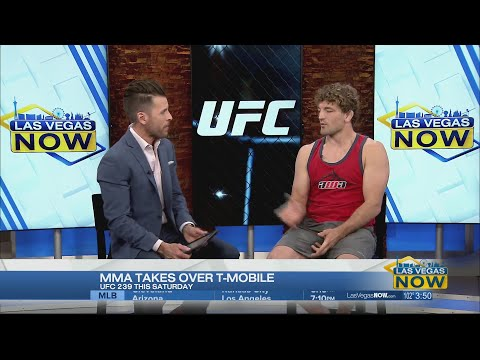 UFC star Ben Askren talks about his upcoming fight