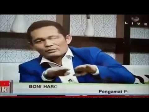 DIDUGA Teler Efek Narkoba: Boni Hargens Nekat Jadi Narasumber Di Stasiun TV Nasional
