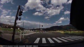 【車載】長野県飯山市 飯山城跡公園~西大滝ダム