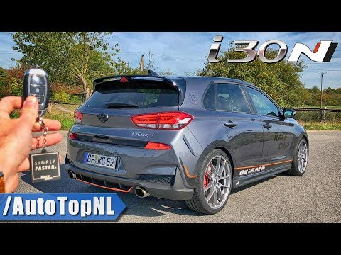 Hyundai i30N RaceChip 320HP REVIEW POV Test Drive on AUTOBAHN ROAD by AutoTopNL