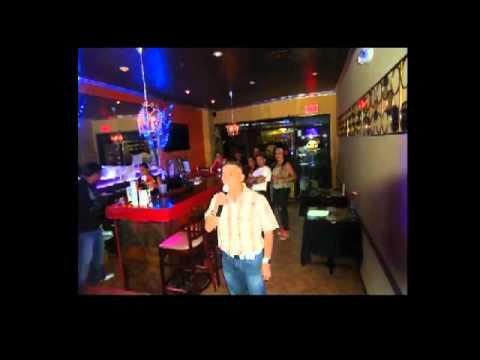 Manny's Karaoke In Mochika Peruvian Cusine & Lounge Saturday September 15 2012