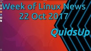 Week Of Linux & Security News 22 October 2017