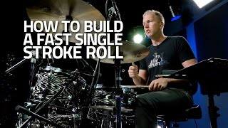 Drum Lesson - How To Build A Fast Single Stroke Roll