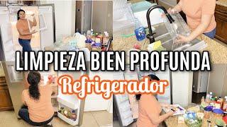 Limpieza muy profunda de refrigerador. Desinfecta tu Refrigerador. Limpieza profunda refrigerador