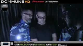 Ingen + Surgeon, live at Dommune, April 30th 2014