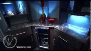 Vinotemp Wine Cooler Featured On Bath Crashers